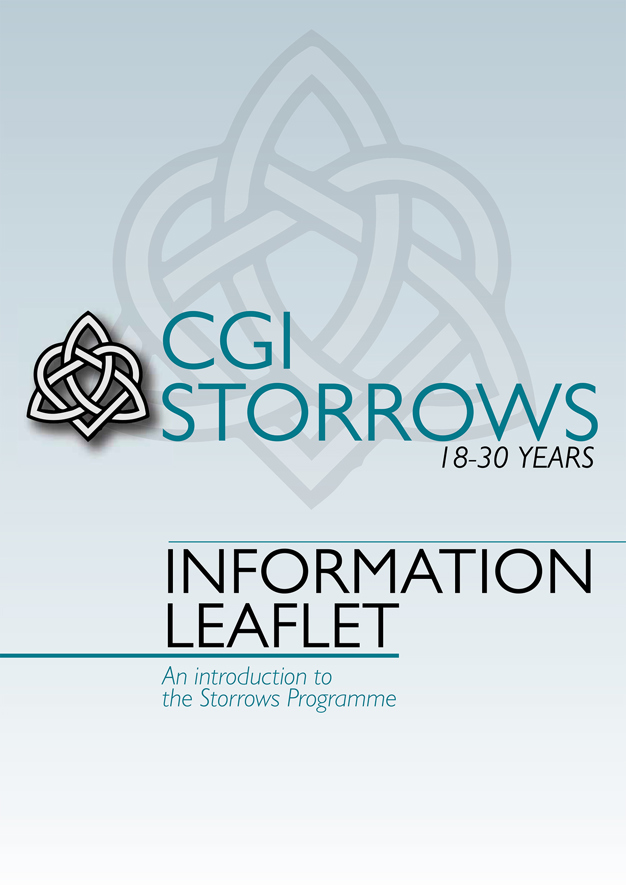Cover of the Storrows INformation Leaflet