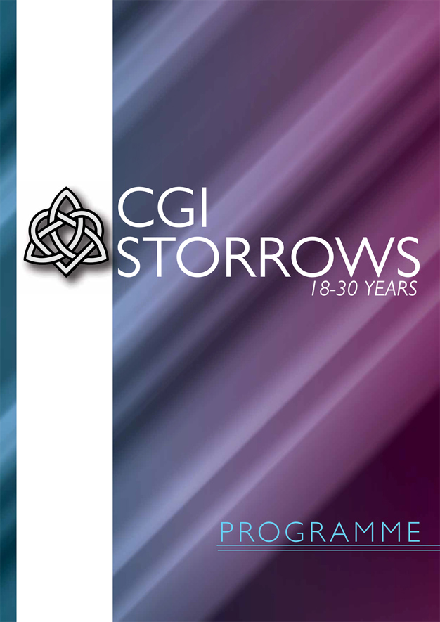 Cover of the Storrows Programme Booklet