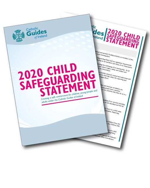 An image of the 2020 Child Safeguarding Statement
