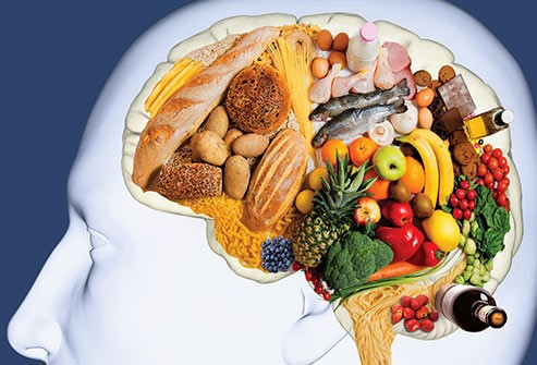 Food is good for a healthy mind