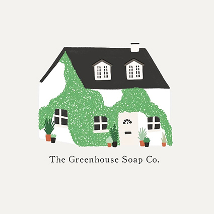 Logo for the Greenhouse Soap Co.