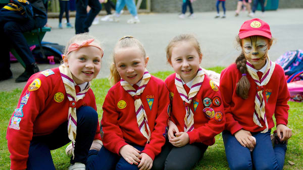 Cygnet Guides in Uniform