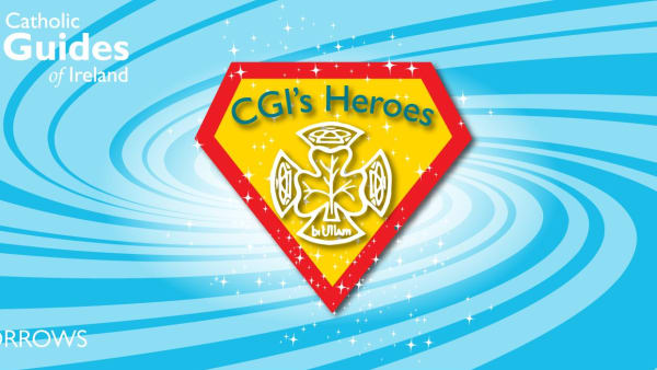 Banner showing the CGI Heroes logo