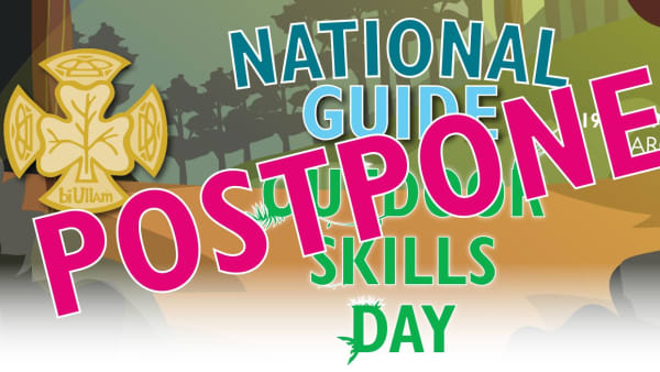 Postponed Outdoor Skills Day Banner